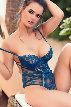 Ashley white nude