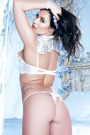 Candace Leilani In Her Private Winter Wonderland